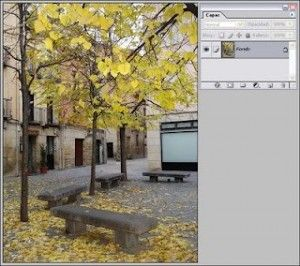 Efecto lluvia a una Fotografía con Photoshop sencillo