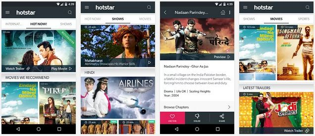 Hotstar Live TV para PC descargar