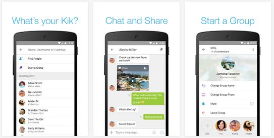 Kik Messenger APK para Android descargar
