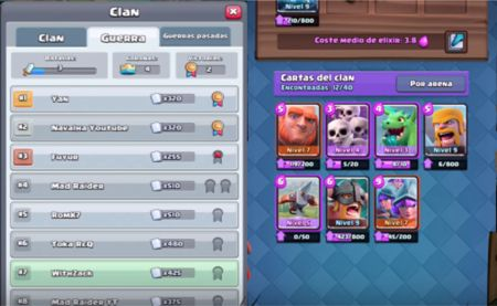 videos de Clash Royale guerra de clanes