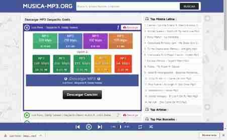 descargar musica gratis de internet a mi celular