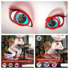 my talking angela peligro rumores