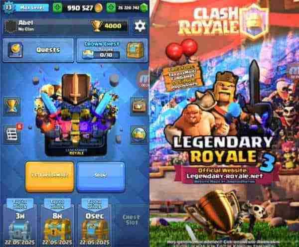 legendary royale apk 3 instalar