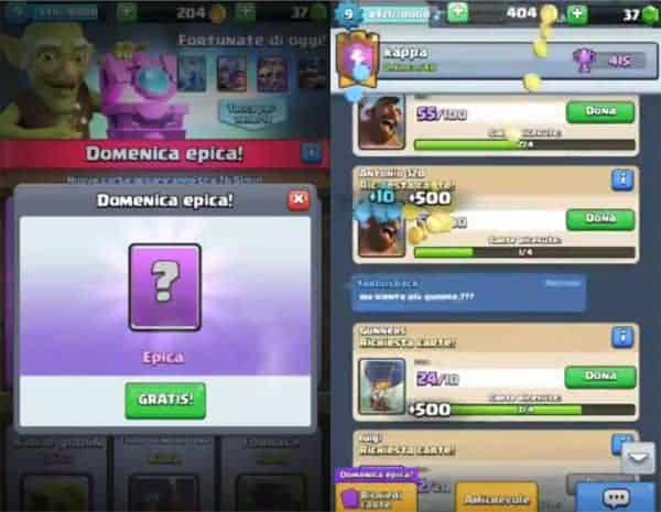server privato Clash Royale app