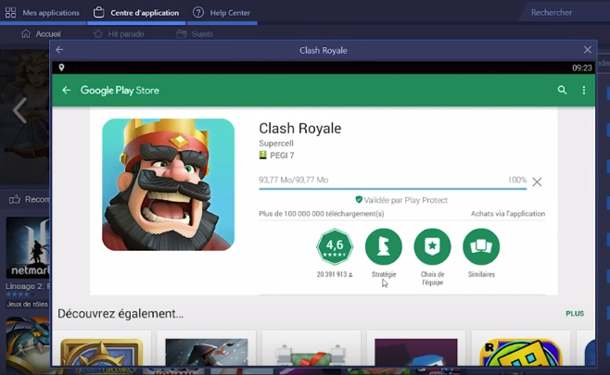 Clash Royale pour PC mac