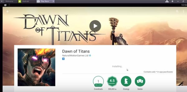 Dawn of Titans para PC ios