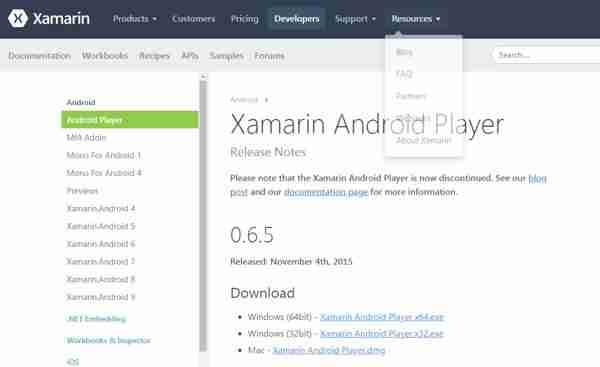 emuladores para android xamarani