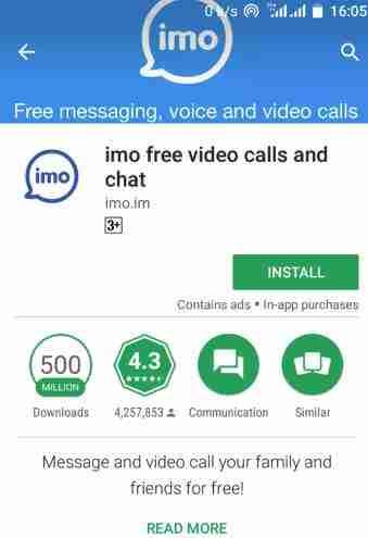 imo android apk videollamadas