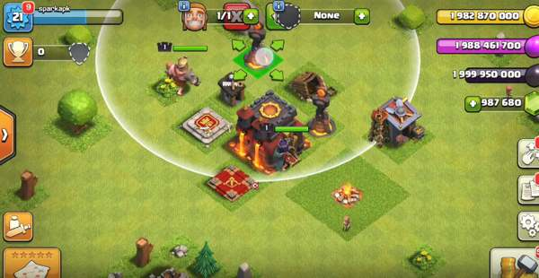 servidor privado clash of clans fhx