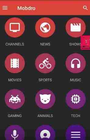 Descargar Mobdro APK tv gratuit