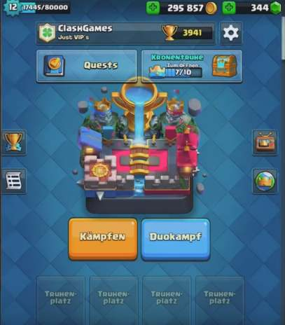 privaten server clash royale PC