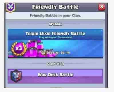 como funciona Guerra de Clanes Clash Royale