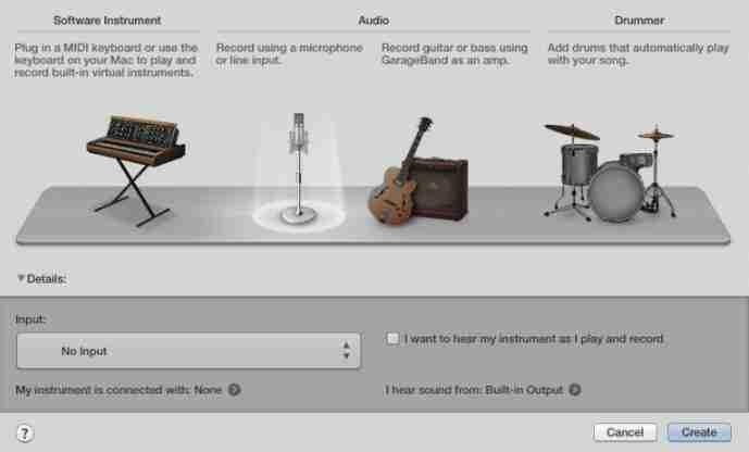 como editar canciones con garageband