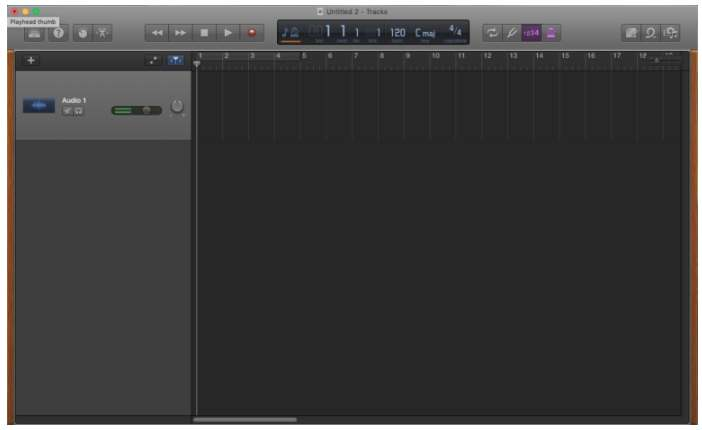 editar canciones con garageband mac