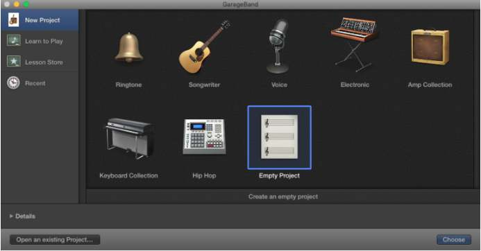 editar canciones con garageband iphone