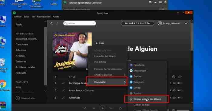 como descargar canciones de spotify en pc sin conexion