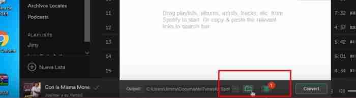 como descargar canciones de spotify en pc facil