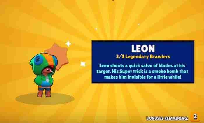 Leon Brawl Stars wiki