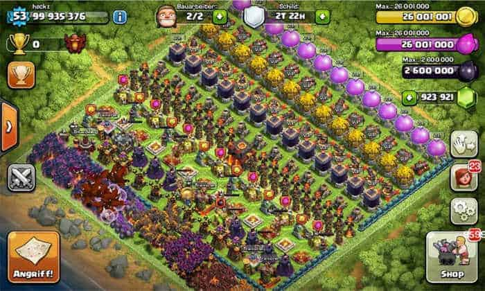 illimitate server privato Clash of clans