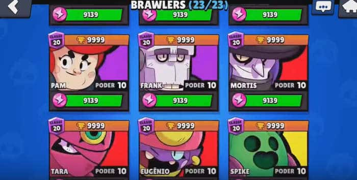 Servidor Privado do Brawl Stars mod