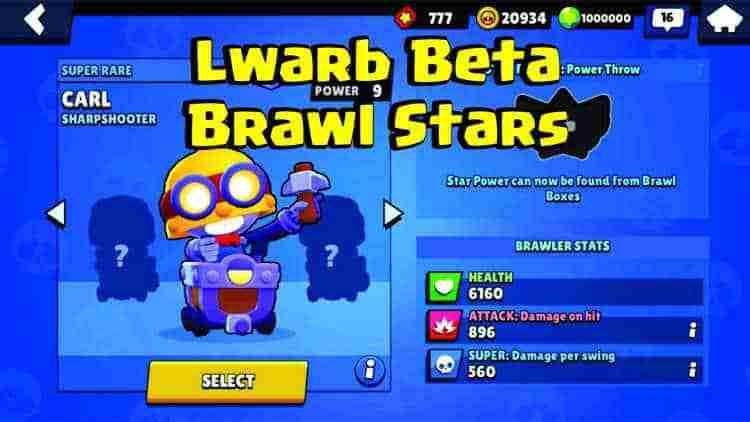lwarb beta brawl stars mod