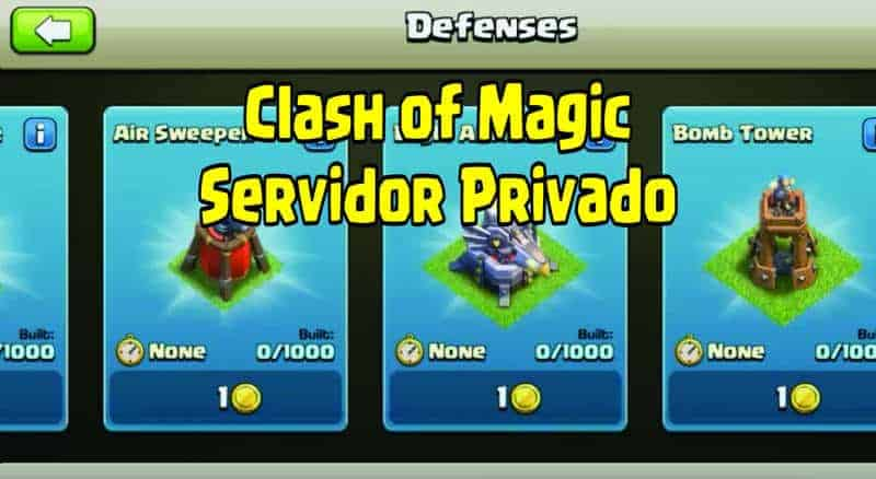 clash of magic servidor privado mod