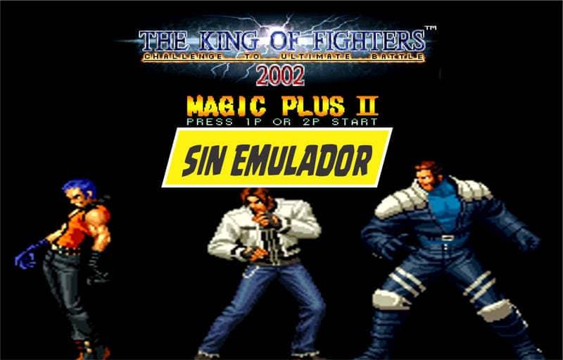 descargar King of Fighter 2002 magic plus
