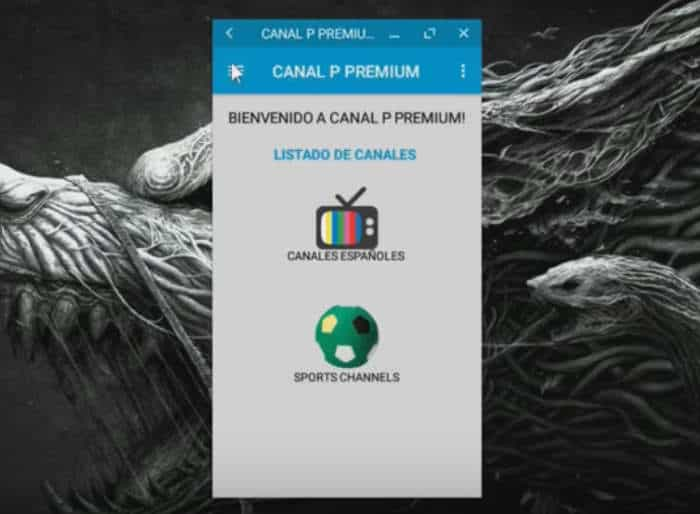canal p premium españa