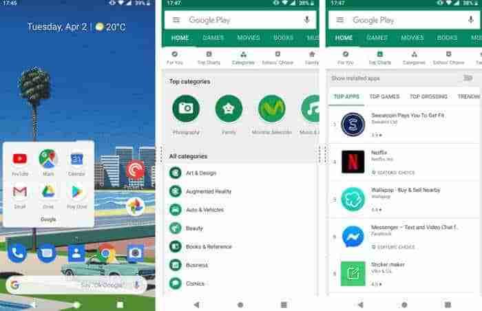 Cómo descargar y actualizar aplicaciones y juegos en Google Play Store android