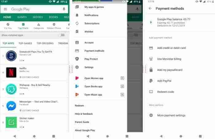 Cómo descargar y actualizar aplicaciones y juegos en Google Play Store movil