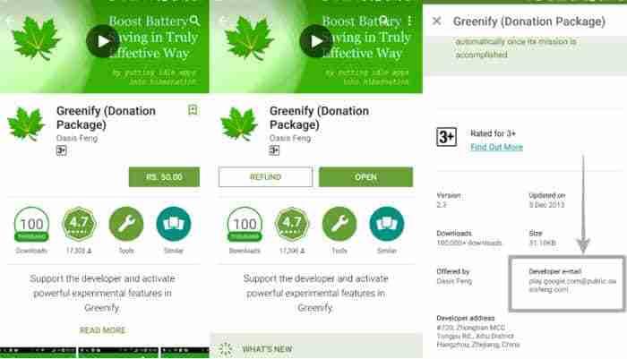 Cómo obtener el reembolso por aplicaciones compradas en Google Play Store pc