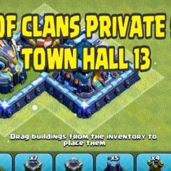 clash of clans private server town hall