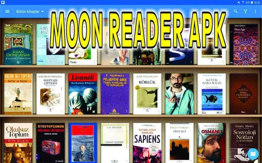moon reader apk pc