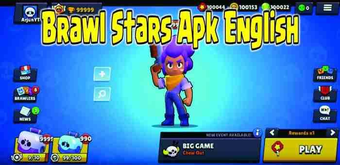 Brawl Stars Apk English android