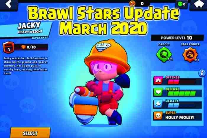 Brawl Stars Update March 2020 english