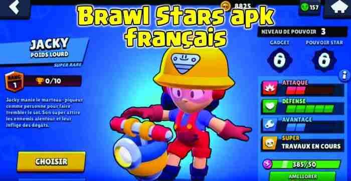 Brawl Stars apk français jacky