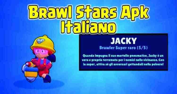 brawl stars apk italiano jacky
