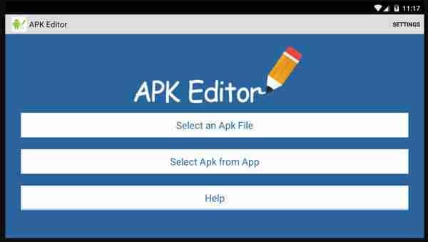update APK Editor Deutsch