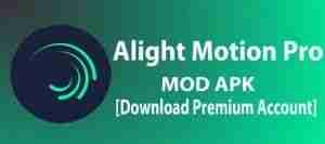 Instalar Alight Motion Apk