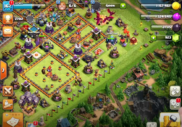 Clash of Clans Nederlands android
