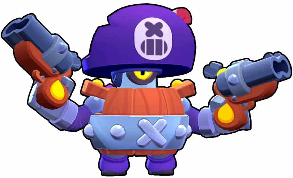 Darryl Brawl Stars pirate
