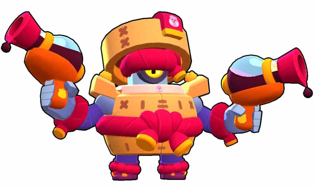 Darryl Brawl Stars barrel