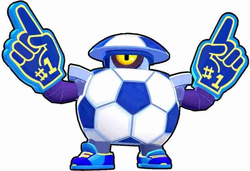 Darryl Brawl Stars futbol