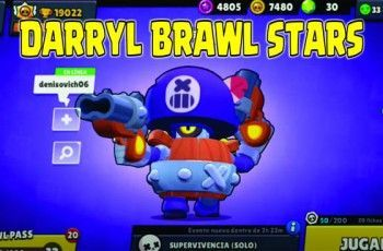 Darryl Brawl Stars download