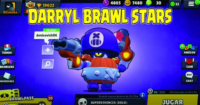 Darryl Brawl Stars download