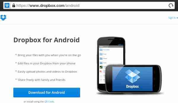 Descargar Dropbox Apk