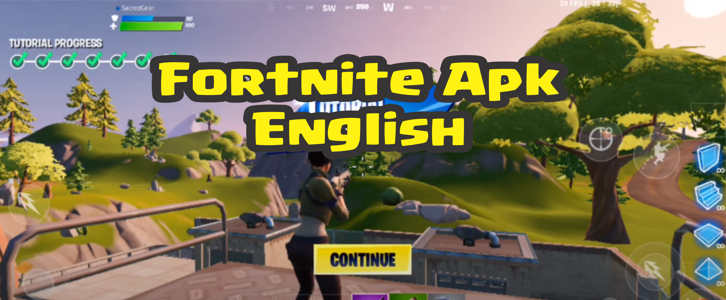 Fortnite Apk English default