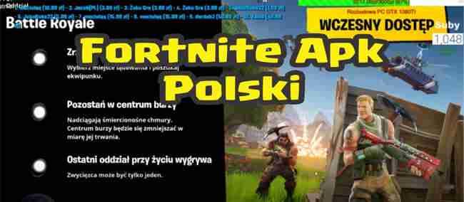 Fortnite Apk Polski default