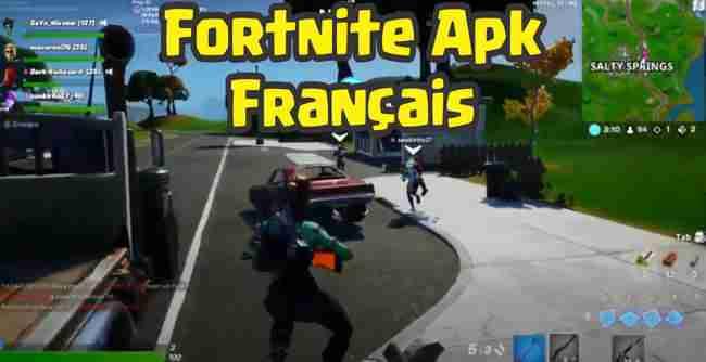 Fortnite Apk français default