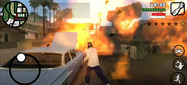 GTA San Andreas für Android und pc